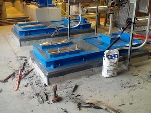 epoxy machine grout
