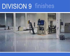 CPD Construction Products: Division 9 - Finishes