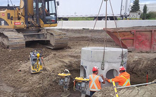 Highway 410 in Brampton Project - CPD Construction Products